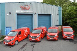 2016 New Fleet of Vans